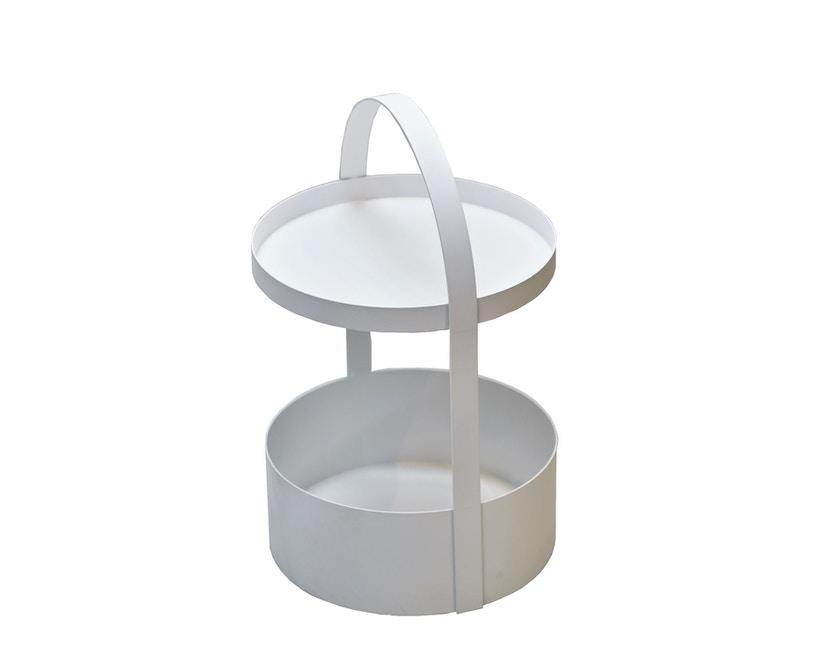 Jan Kurtz - Polytable Beistelltisch - weiß - 1