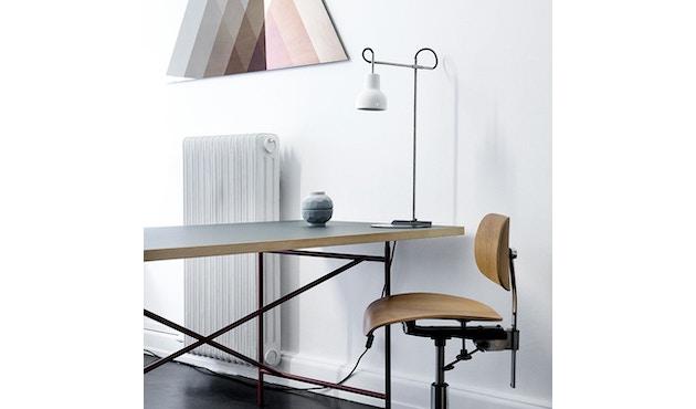Made By Hand - Porcelight P14 Hängeleuchte - Kabelfarbe weiß - Baldachin weiß - 7
