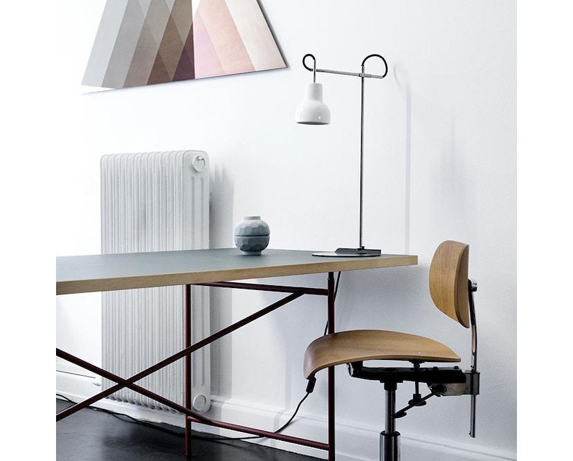 Made By Hand - Porcelight P11 Hängeleuchte - Kabelfarbe weiß - Baldachin weiß - 7