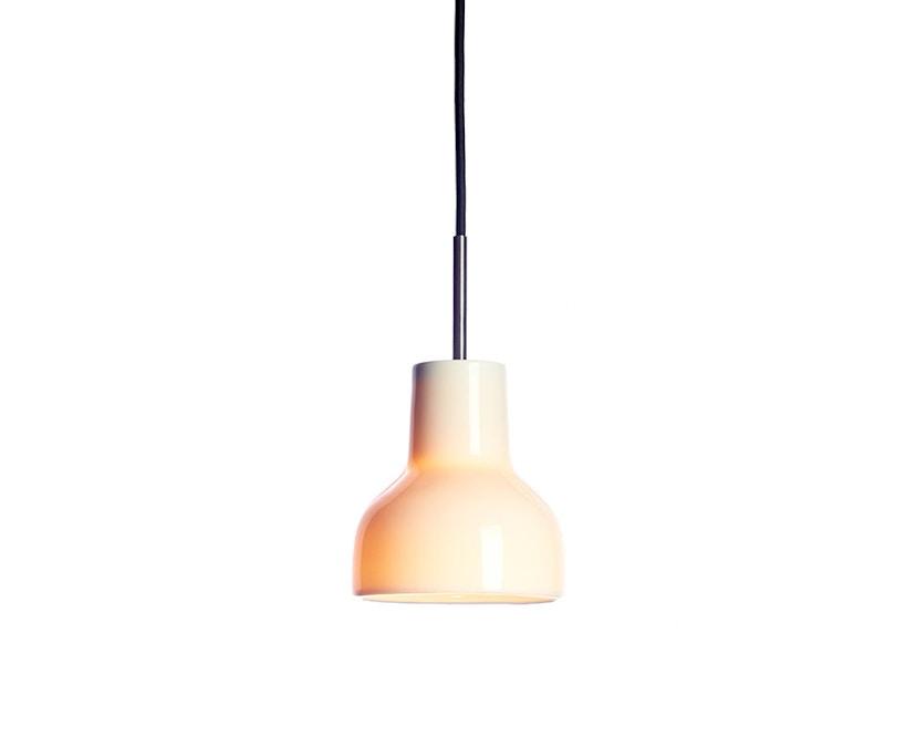 Made By Hand - Porcelight P14 Hängeleuchte - Kabelfarbe schwarz - Baldachin schwarz - 2