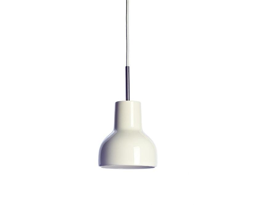 Made By Hand - Porcelight P14 Hängeleuchte - Kabelfarbe weiß - Baldachin weiß - 1