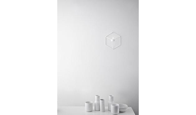 Menu - POV Wandkerzenhalter - weiß - 3