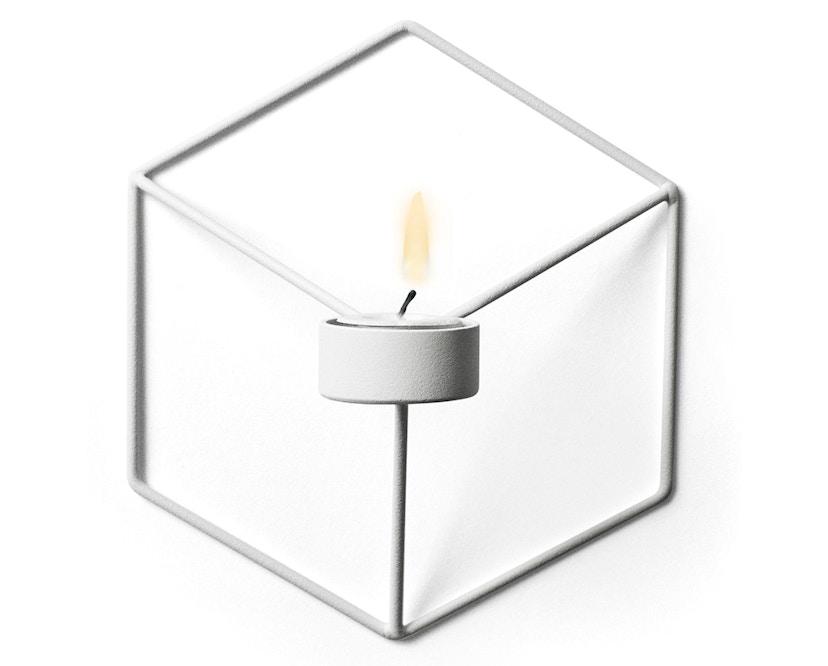 Menu - POV Wandkerzenhalter - weiß - 1