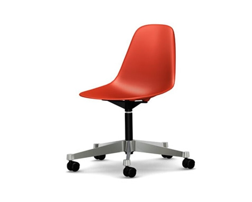 Vitra - Eames Plastic Side Chair PSCC - poppy red - 1
