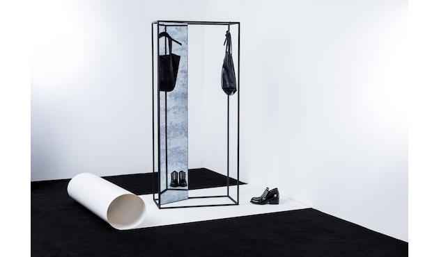 Pulpo - Miro Spiegel/Garderobe - antique/schwarz - 3