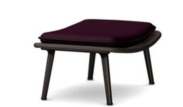 Vitra - Slow Chair Ottoman - beschichtet, braun - 1