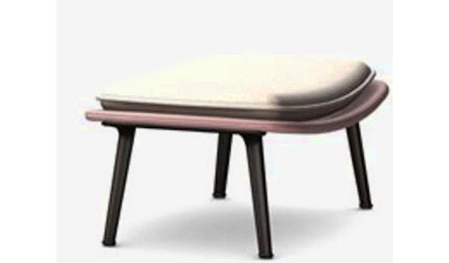 Vitra - Slow Chair Ottoman - beschichtet, rot - 1