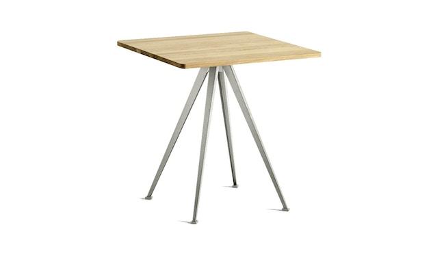 HAY - Pyramid Café Tisch 21 - Eiche klar lackiert - Gestell beige - 1