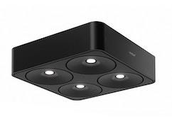 Nimbus - Q FOUR Deckenleuchte - schwarz matt - 80°