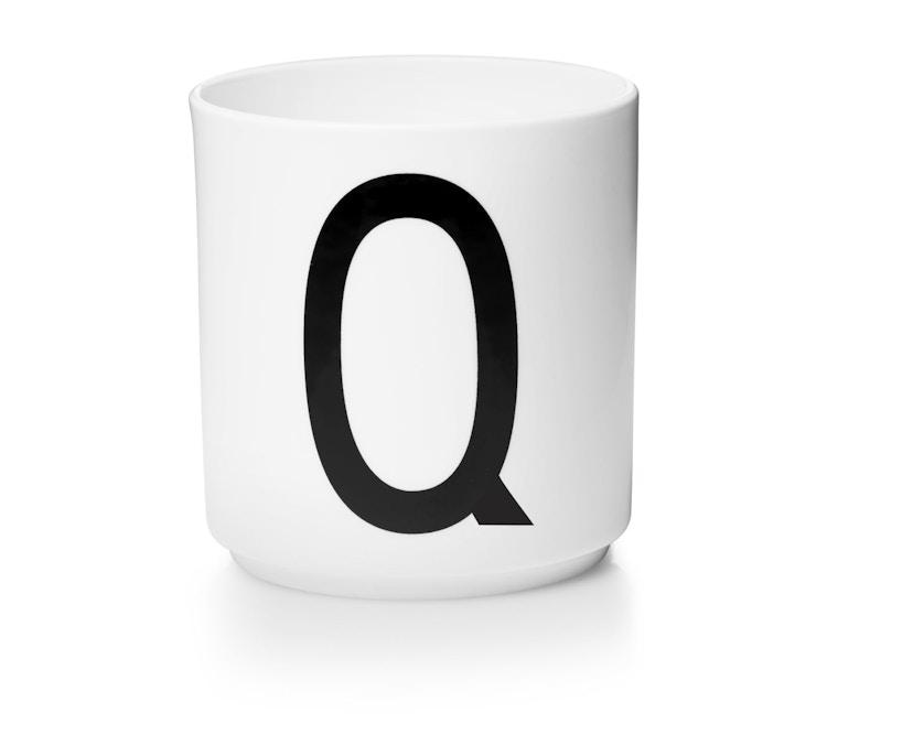 DESIGN LETTERS - Personal Porzellanbecher - weiß - Q - 1