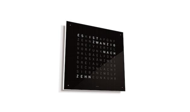 QLOCKTWO - Qlocktwo Classic - deutsch - schwarz - 1