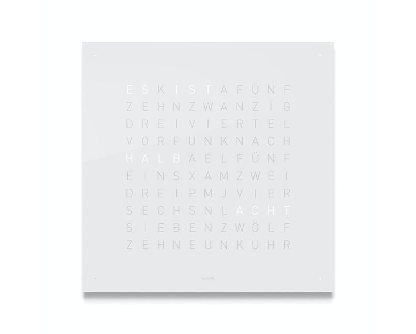 Qlocktwo Classic - QOLOR - deutsch