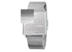 QLOCKTWO - Qlocktwo W35 Fine Steel - Armbanduhr - englisch - 1