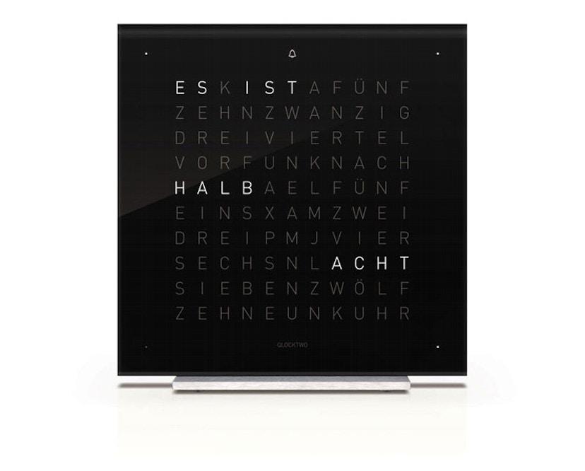 QLOCKTWO - Qlocktwo Touch - deutsch - Wecker - schwarz - 1