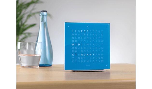 QLOCKTWO - Qlocktwo Touch - französisch - Wecker - blau - 2