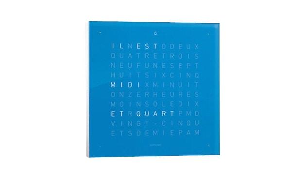 QLOCKTWO - Qlocktwo Touch - französisch - Wecker - blau - 1