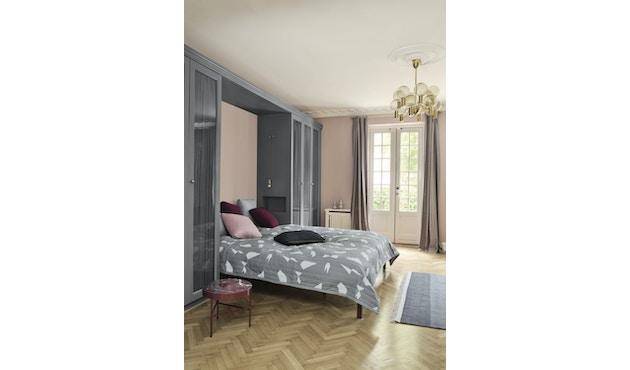 ferm LIVING - Quilt Kissen - dunkelgrau - 40 x 25 - 8