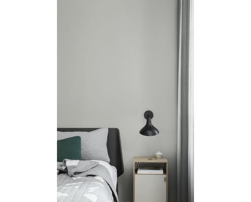 ferm LIVING - Quilt Kissen - dunkelgrau - 40 x 25 - 11
