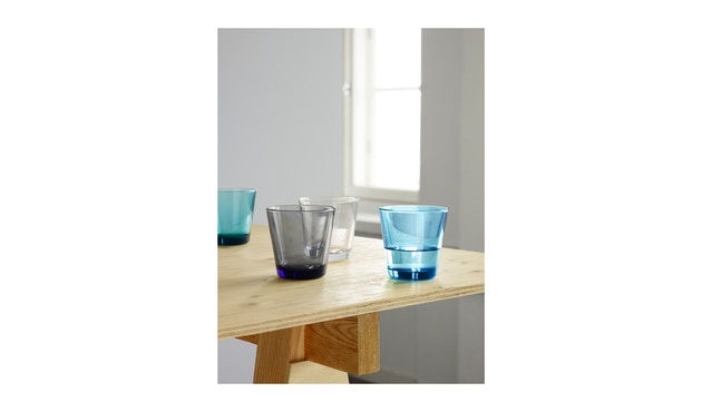 Iittala - Kartio 2er Set Glas, 0,2l - emerald - 4