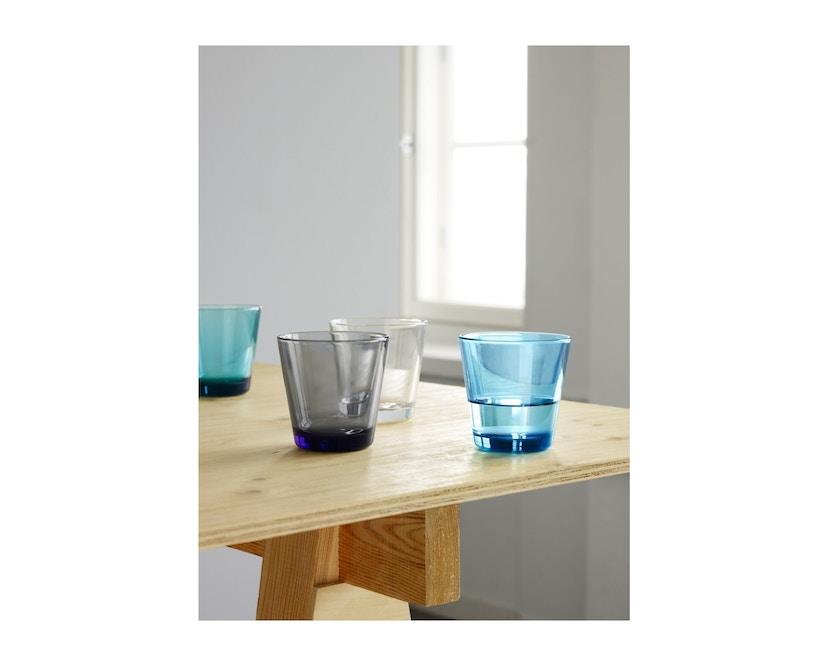 Iittala - Kartio 2er Set Glas, 0,2l - hellblau - 5