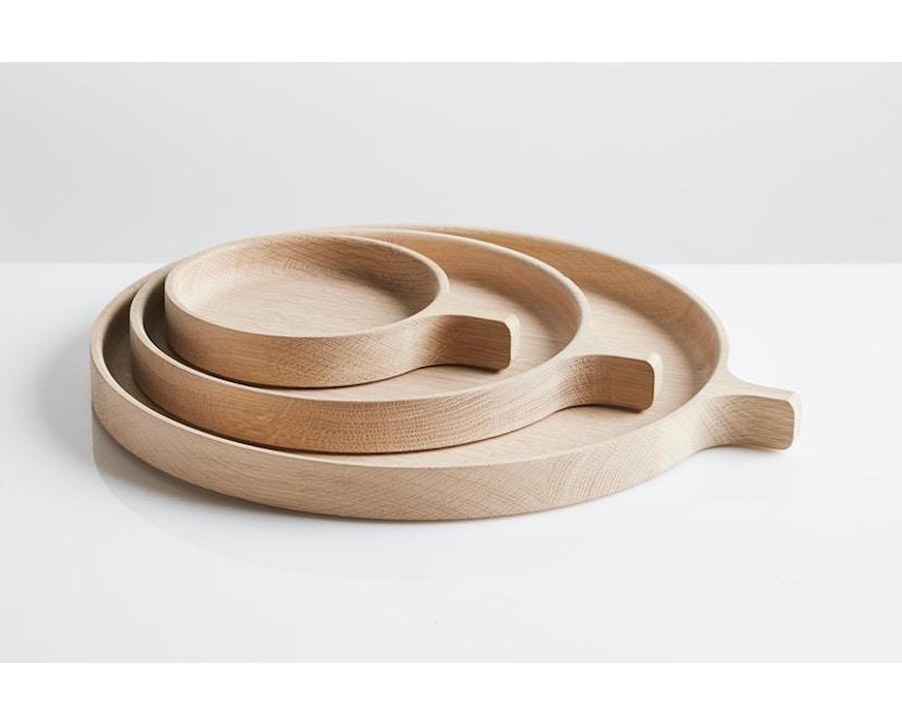 Woud - Racket Tablett - Oak - L - 3