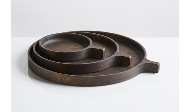Woud - Racket Tablett - Smoked Oak - S - 3