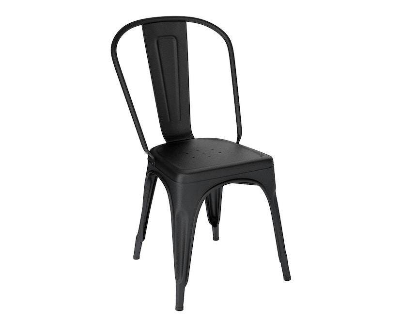 Tolix - A Stuhl - indoor - schwarz matt - 4