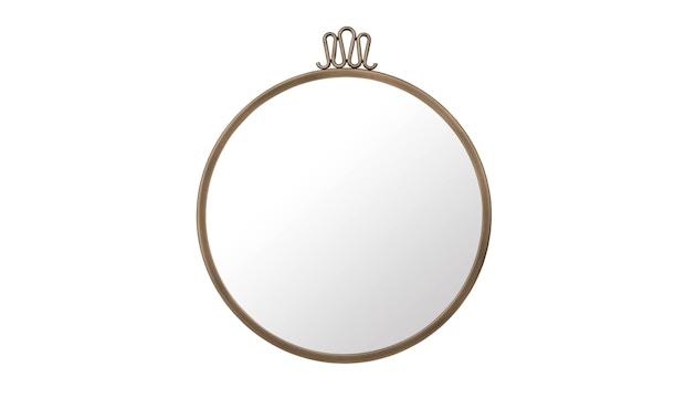 Gubi - Randaccio Spiegel - vintage brass - Ø 42 cm - 1