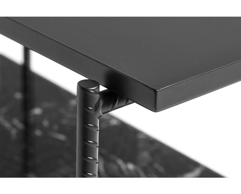 HAY - Rebar Beistelltisch rechteckig - softblack - 3