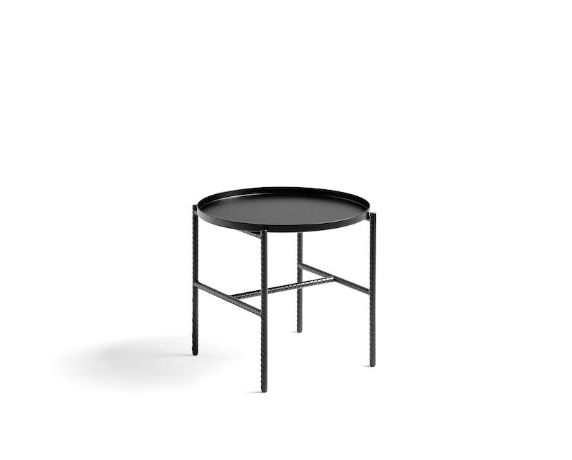 HAY - Rebar Beistelltisch rund - softblack - 1
