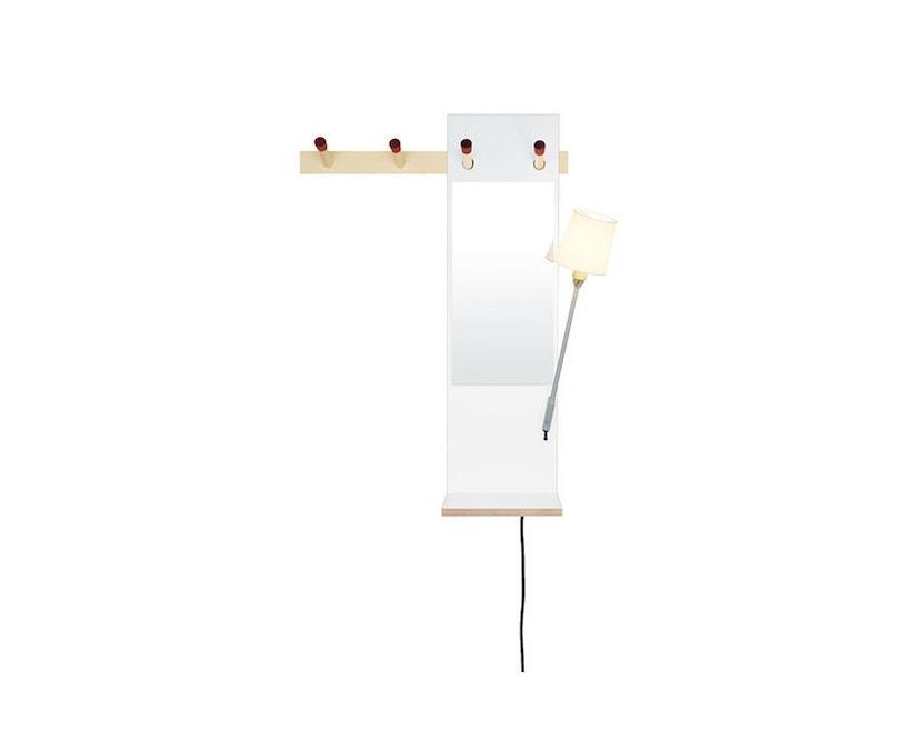 Moormann - Rechenbeispiel Spiegelboard - weiß - 3