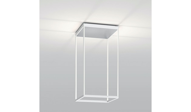 Serien Lighting - Reflex² Deckenleuchte - weiß - 45 cm - Glas silber - 1