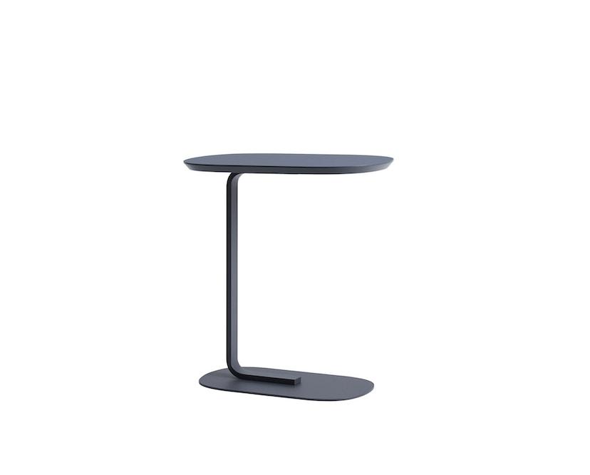 Muuto - Relate Side Tisch - blau/grau - 1