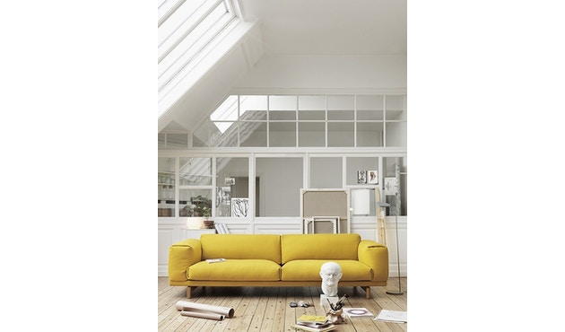 Muuto - Rest 2-zitter bank - Remix 163 - Eik - 5