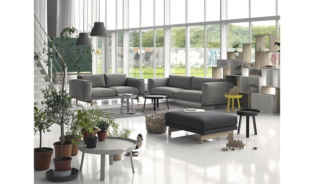 Muuto - Rest 3-zitter bank - Remix 163 - Eik - 3