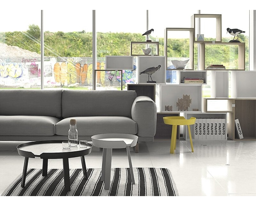 Muuto - Rest 3-Sitzer Sofa - Vancouver 13 - Beine Grau - 3