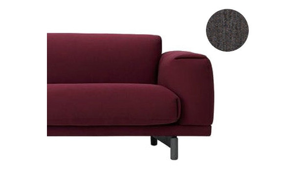 Muuto - Rest 3-Sitzer Sofa - Vancouver 13 - Beine Grau - 2