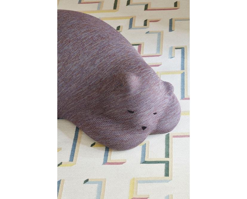 Vitra - Resting Bear Fussablage - mauve - 4