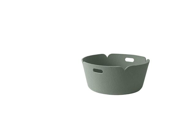 Muuto - Restore Aufbewahrungskorb rund - nebelgrün - 2