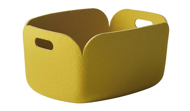 Muuto - Restore Aufbewahrungskorb eckig - gelb - 5
