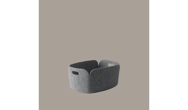 Corbeille de rangement Restore, carrée