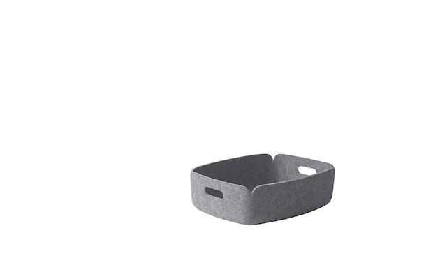 Muuto - Restore Tablett - grau - 0