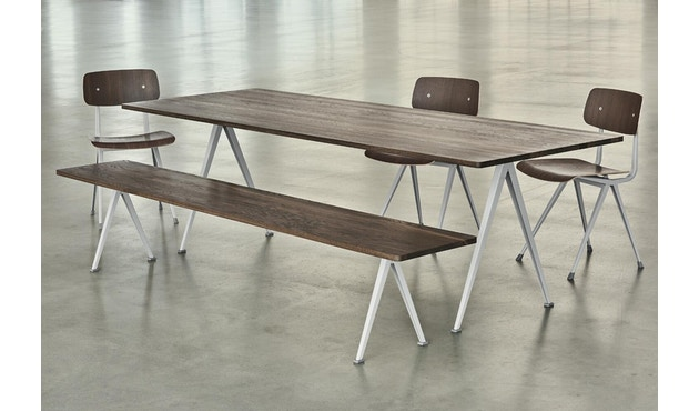 HAY - Pyramid tafel - mat gelakt - zwart - 190 cm - 4