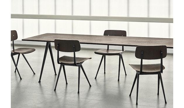 HAY - Pyramid tafel - mat gelakt - zwart - 190 cm - 5