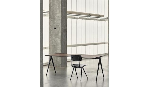 HAY - Pyramid Schreibtisch - geölte Räuchereiche - Gestell schwarz - 140 x 65 cm - 2