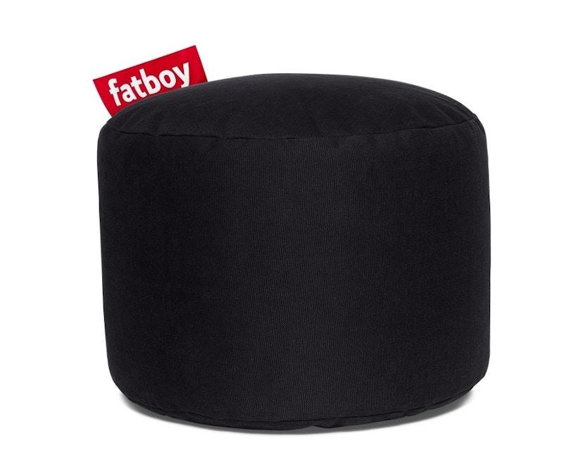 fatboy - Point Stonewashed Poef - zwart - 1