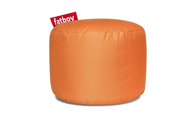 fatboy - Point Stonewashed Poef - oranje - 1