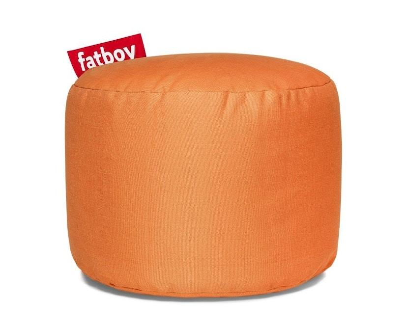 fatboy - Point Stonewashed Pouf - Orange - 1