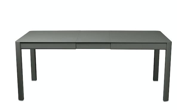 Fermob - Ribambelle Tisch mit 1 Einlegeplatte - Rosmarin 48 - 2