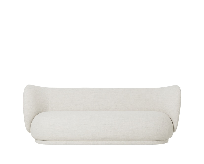 ferm LIVING - Rico Sofa - 3-Sitzer - Off-White (Bouclé) - 1